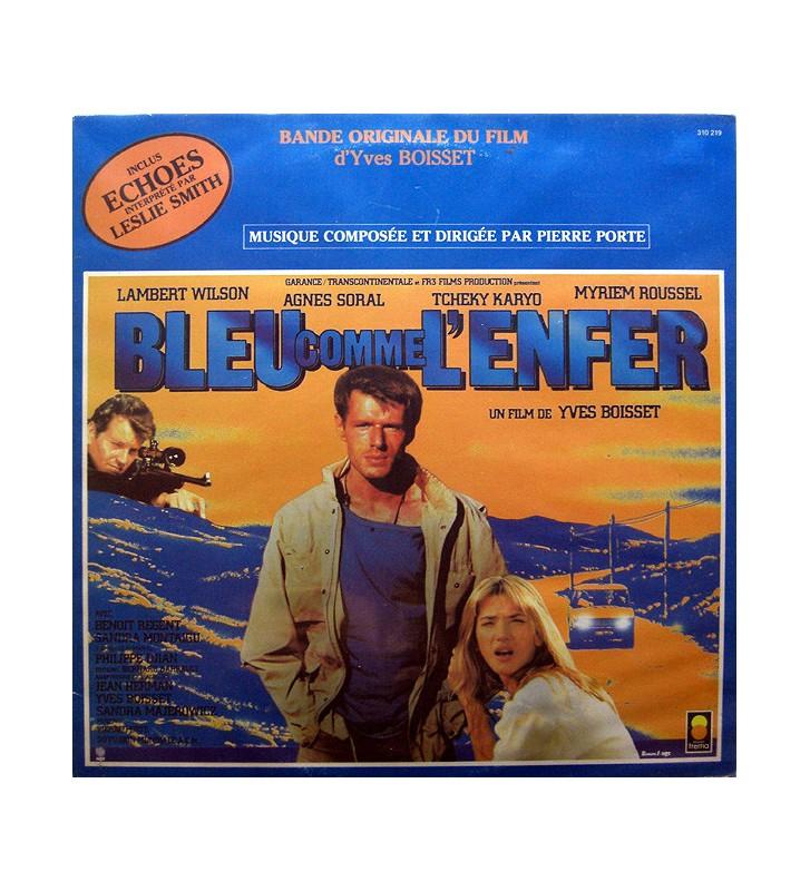 Pierre Porte - Bleu Comme L'Enfer (LP) mesvinyles.fr