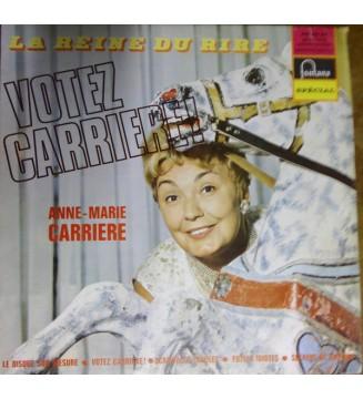 Anne-Marie Carrière - VOTEZ CARRIERE (LP, Album, Mono) mesvinyles.fr