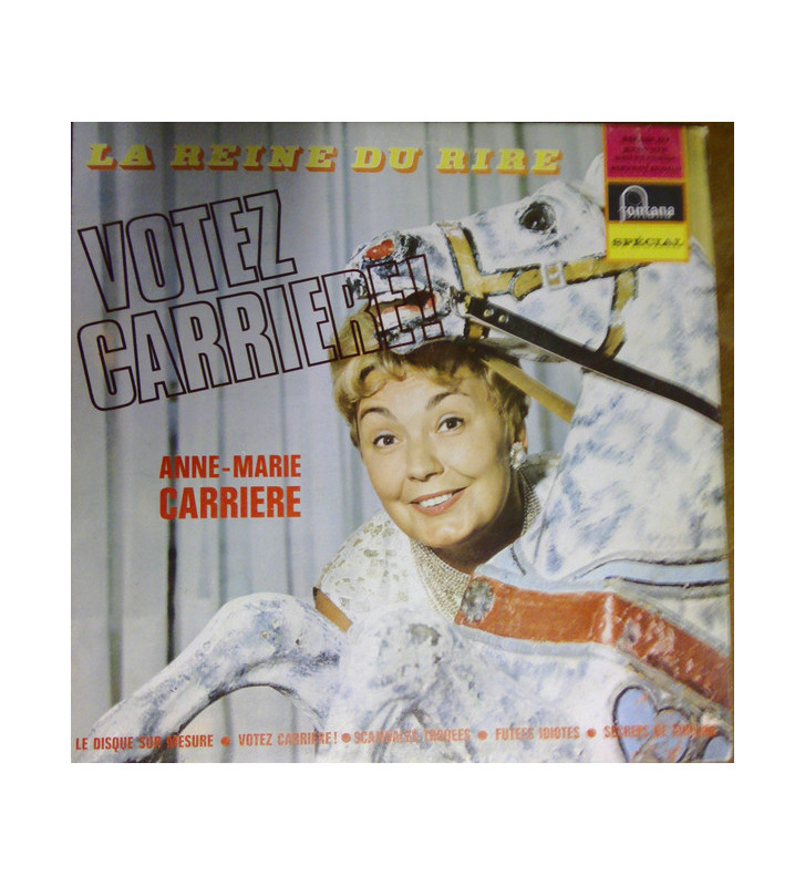 Anne-Marie Carrière - VOTEZ CARRIERE (LP, Album, Mono) mesvinyles.fr