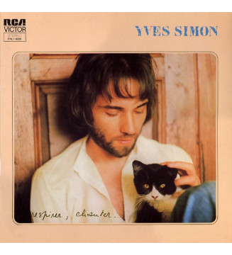 Yves Simon - Respirer, Chanter. (LP, Album, Gat)
