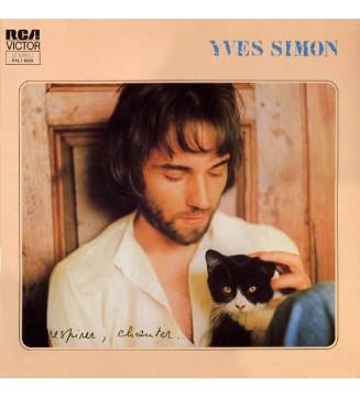 Yves Simon - Respirer, Chanter. (LP, Album, Gat) mesvinyles.fr