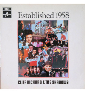 Cliff Richard & The Shadows - Established 1958 (LP, Album) mesvinyles.fr