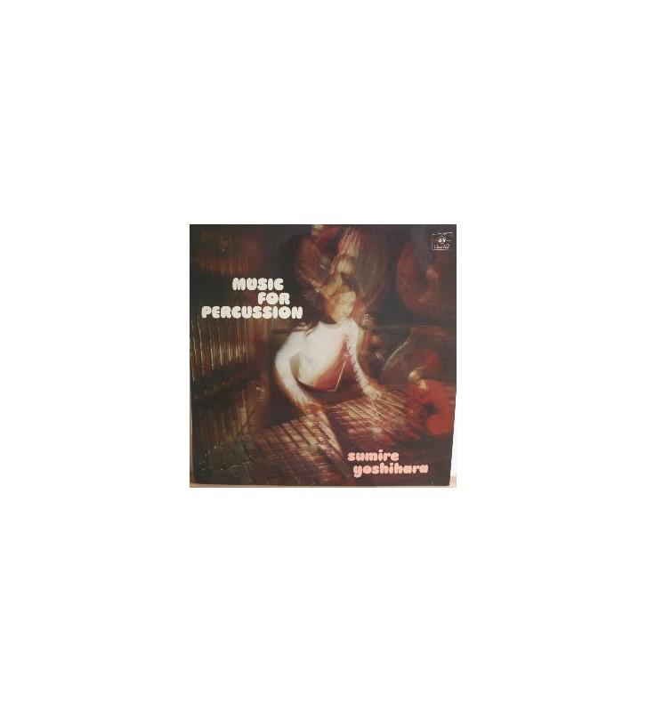 Sumire Yoshihara - Music For Percussion (LP) mesvinyles.fr
