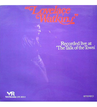Lovelace Watkins - Recorded Live At The Talk Of The Town (2xLP, Album) mesvinyles.fr