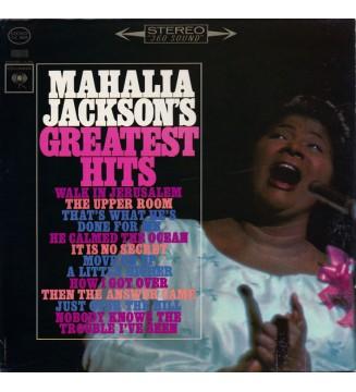 Mahalia Jackson - Mahalia Jackson's Greatest Hits (LP, Comp) mesvinyles.fr