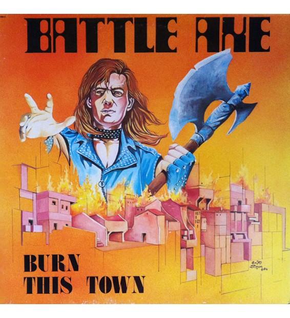 Battleaxe - Burn This Town (LP, Album) mesvinyles.fr