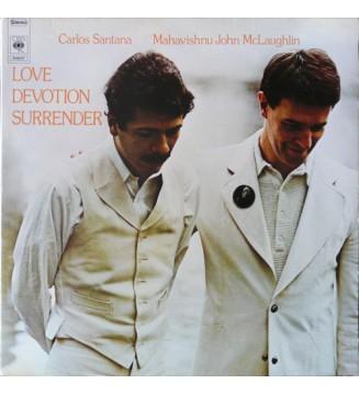 Carlos Santana / Mahavishnu John McLaughlin* - Love Devotion Surrender (LP, Album) mesvinyles.fr