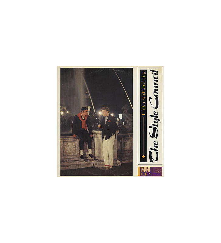 The Style Council - Introducing: The Style Council (LP, MiniAlbum) mesvinyles.fr
