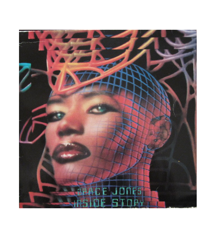 Grace Jones - Inside Story (LP, Album) mesvinyles.fr