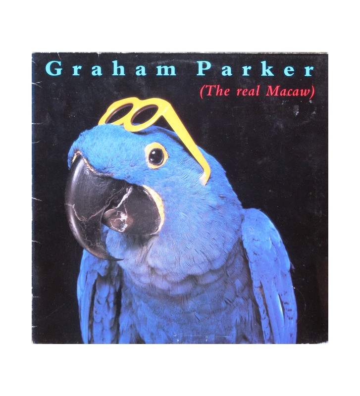 Graham Parker - The Real Macaw (LP, Album) mesvinyles.fr