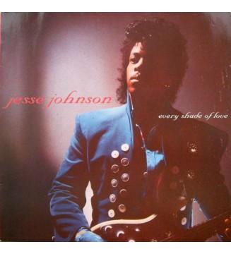 Jesse Johnson - Every Shade Of Love (LP, Album) mesvinyles.fr