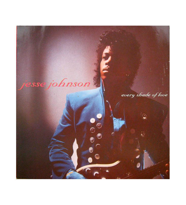 Jesse Johnson - Every Shade Of Love (LP, Album) mesvinyles.fr