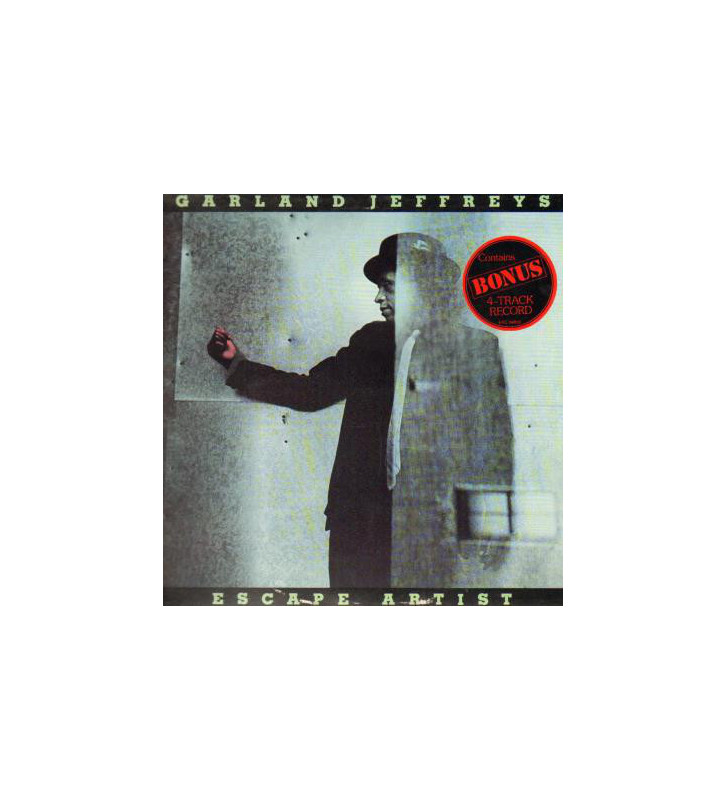 "Garland Jeffreys - Escape Artist (LP, Album + 7"", EP) mesvinyles.fr"