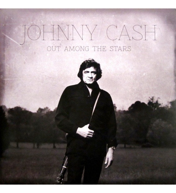 Johnny Cash - Out Among The Stars (LP, Album, Gat)