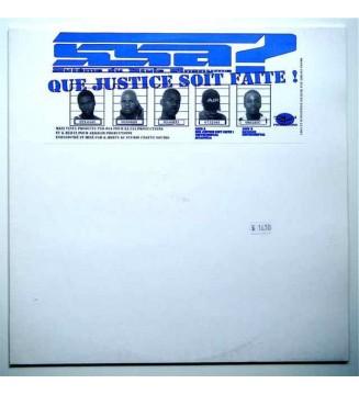 """SSA (Système Du Style Anonyme) - Que Justice Soit Faite ! (12"""", Maxi) mesvinyles.fr"""