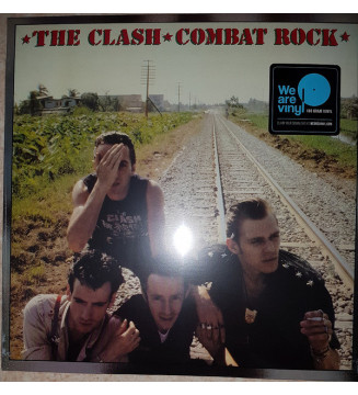 The Clash - Combat Rock (LP, Album, RE, RM, 180)