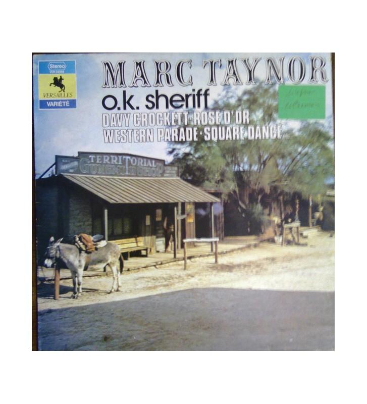 Marc Taynor - O.K. Sheriff (LP) mesvinyles.fr