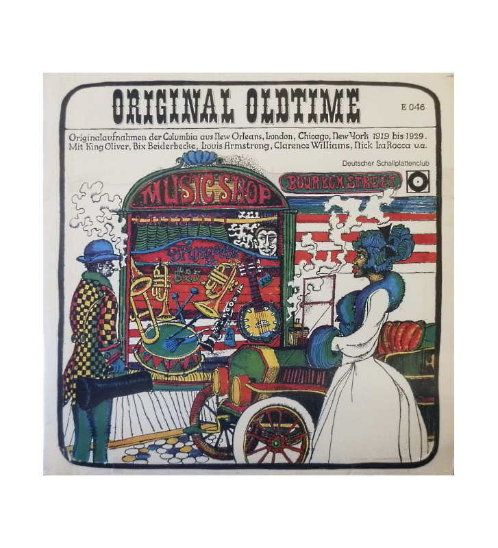 Various - Original Oldtime (LP, Comp, Mono, Club) mesvinyles.fr
