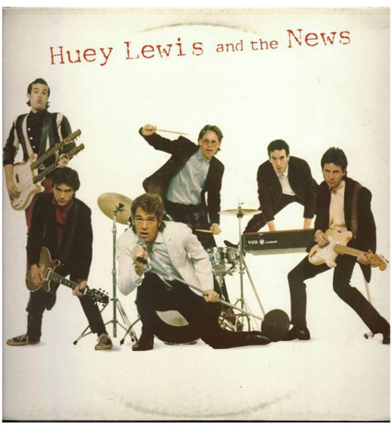Huey Lewis And The News* - Huey Lewis And The News (LP, Album)