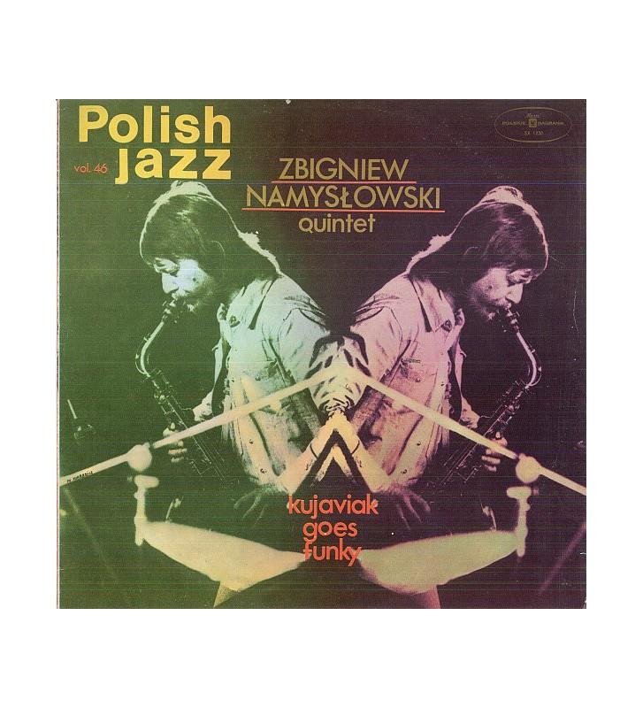 Zbigniew Namysłowski Quintet - Kujaviak Goes Funky (LP, Album) mesvinyles.fr