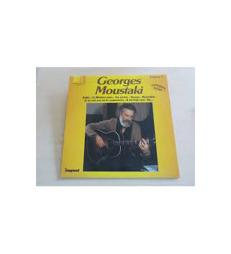 Georges Moustaki - Volume 3 (LP, Comp) mesvinyles.fr