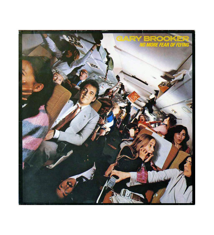 Gary Brooker - (No More) Fear Of Flying (LP, Album) mesvinyles.fr