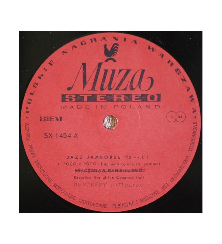 Wiaczysław Ganielin Trio*, Humphrey Lyttelton Group* - Jazz Jamboree '76 Vol.1 (LP, Album, Mis) mesvinyles.fr