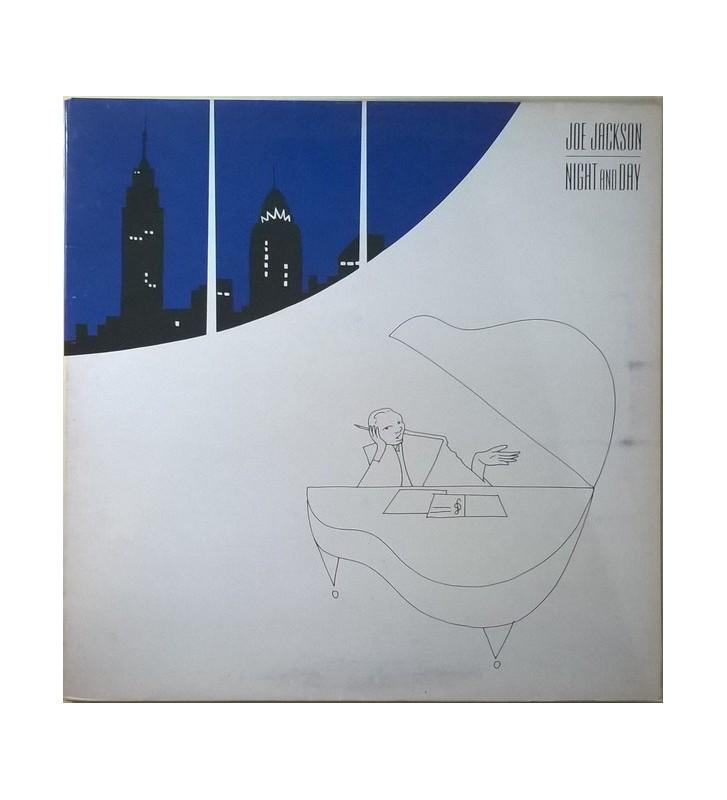 Joe Jackson - Night And Day (LP, Album, Gat) mesvinyles.fr