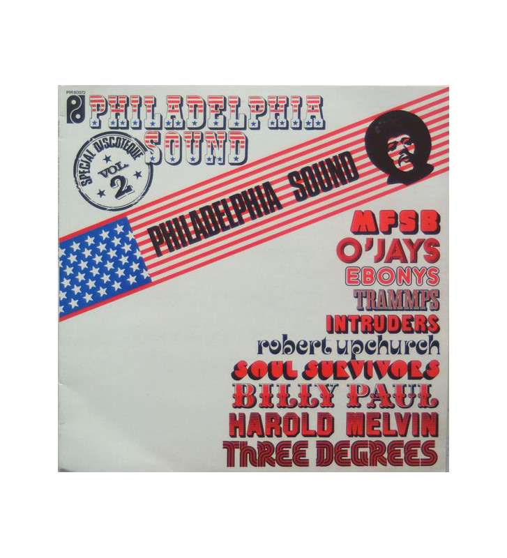 Various - Philadelphia Sound Special Discotheques Volume 2 (LP, Comp, RE) mesvinyles.fr