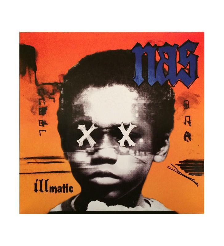 Nas - Illmatic XX (LP, Album, RE, RM) mesvinyles.fr