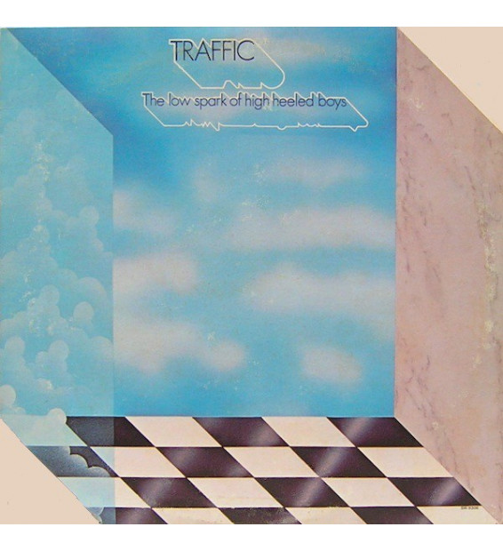 Traffic - The Low Spark Of High Heeled Boys (LP, Album)