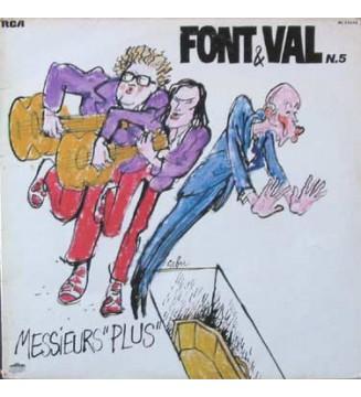 """Font & Val* - N.5 / Messieurs """"Plus"""" (LP, Album) mesvinyles.fr"""