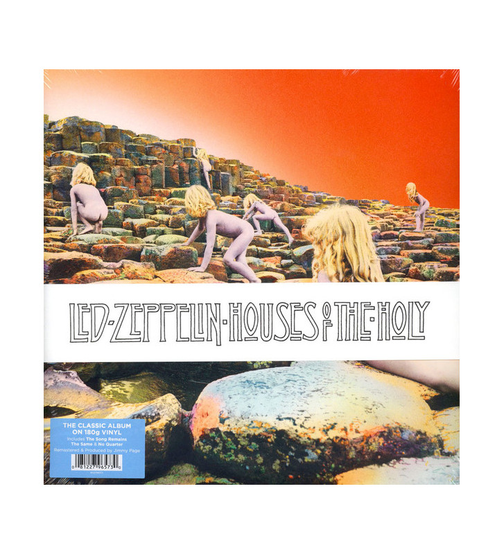 Led Zeppelin - Houses Of The Holy (LP, Album, RE, RM, 180) mesvinyles.fr
