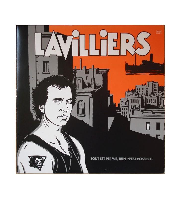 Lavilliers* - Tout Est Permis, Rien N'Est Possible (LP) mesvinyles.fr