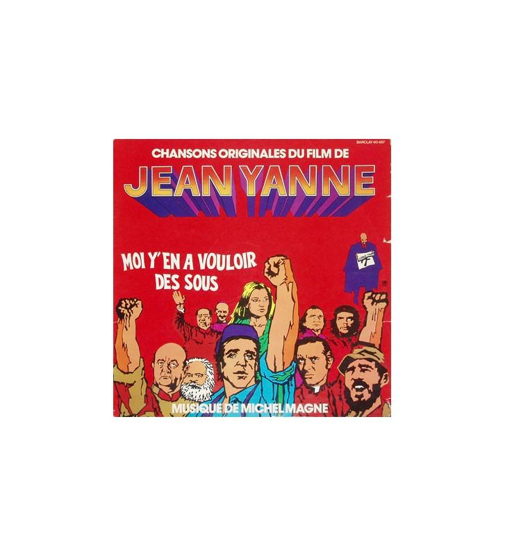 Michel Magne Jean Yanne - Moi Y'En A Vouloir Des Sous (Chansons Originales Du Film) (LP) mesvinyles.fr
