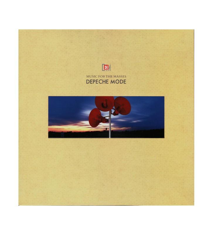 Depeche Mode - Music For The Masses (LP, Album, RM, Gat) mesvinyles.fr