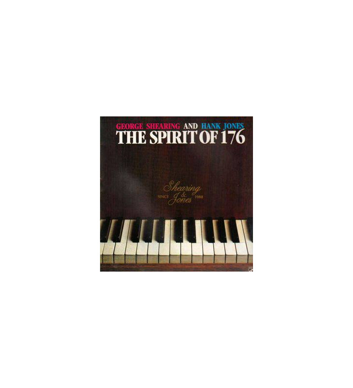 George Shearing And Hank Jones - The Spirit Of 176 (LP) mesvinyles.fr
