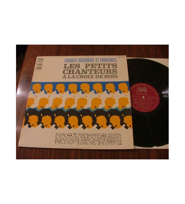 Les Petits Chanteurs A La Croix De Bois - Chants Religieux Et Profanes (LP) mesvinyles.fr