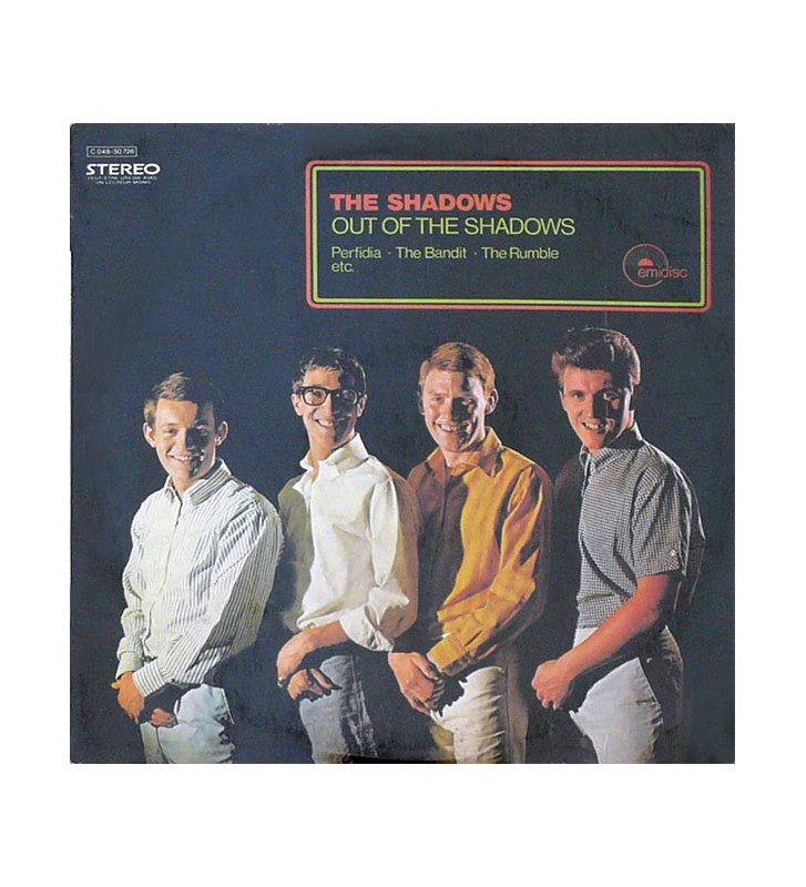 The Shadows - Out Of The Shadows (LP, Album) mesvinyles.fr