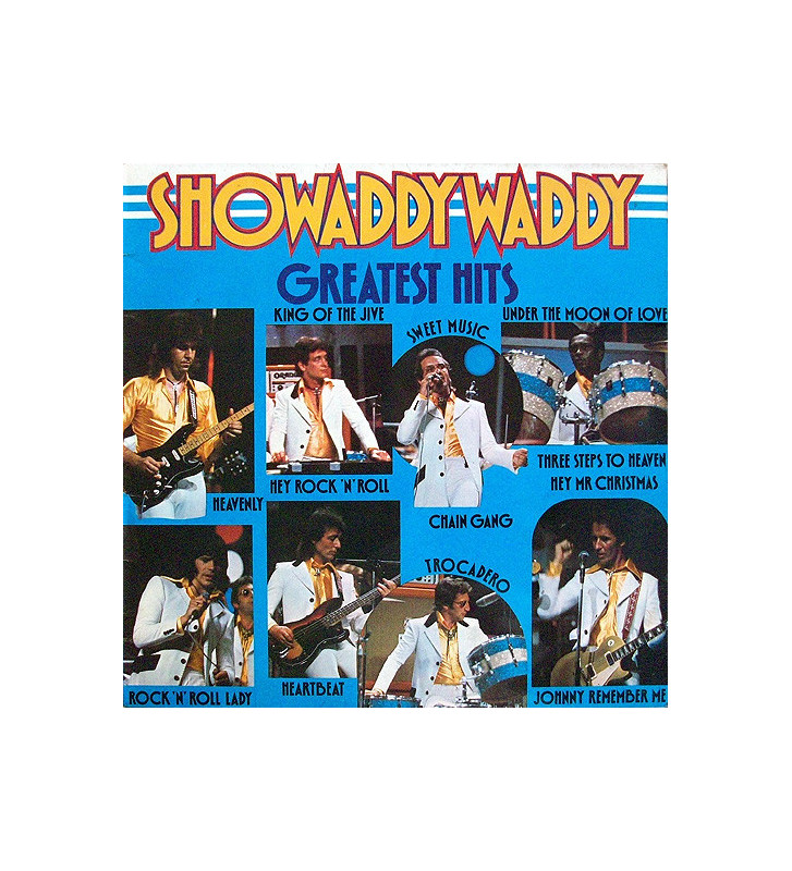 Showaddywaddy - Greatest Hits (LP, Comp) mesvinyles.fr