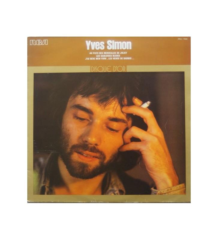 Yves Simon - Disque D'Or (LP, Comp) mesvinyles.fr