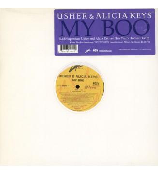 "Usher & Alicia Keys - My Boo (12"")"