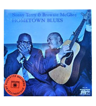 Sonny Terry & Brownie McGhee - Hometown Blues (LP, Album, RE, Gat) mesvinyles.fr