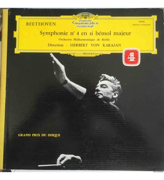Beethoven* - Orchestre Philharmonique De Berlin*, Herbert von Karajan - Symphonie N° 4 En Si Bémol Majeur (LP, Gat) mesvinyles.f