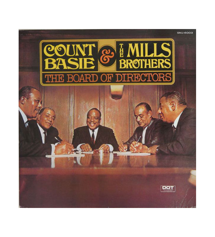 Count Basie & The Mills Brothers - The Board Of Directors (LP, Album) mesvinyles.fr