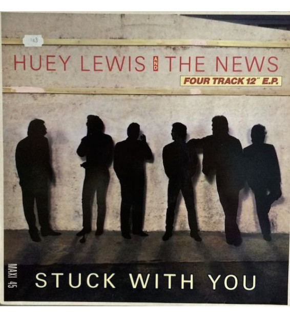 "Huey Lewis And The News* - Stuck With You (12"", EP)"