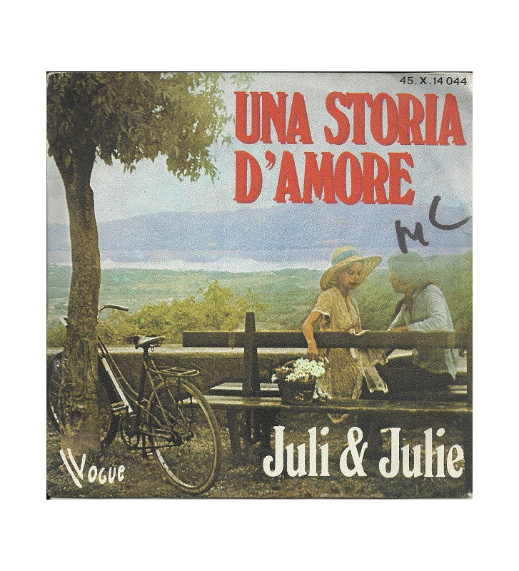 "Juli & Julie* - Una Storia D'Amore (7"", Single) mesvinyles.fr"