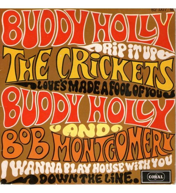 "Buddy Holly, The Crickets (2), Bob Montgomery - Rip It Up (7"", EP) mesvinyles.fr"