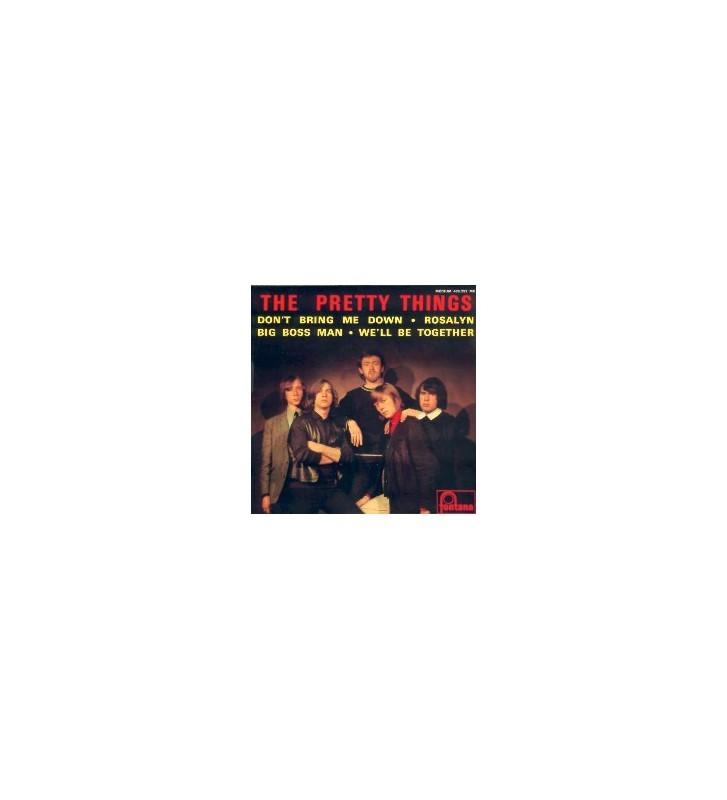"""The Pretty Things - The Pretty Things (7"""", EP, Mono) mesvinyles.fr"""