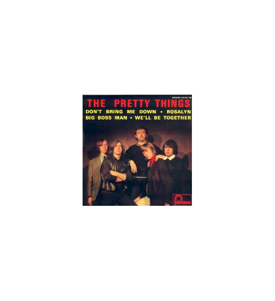 "The Pretty Things - The Pretty Things (7"", EP, Mono) mesvinyles.fr"